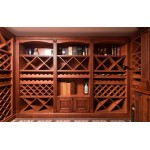 Wine cellar. Custom design