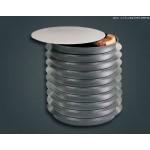 Round Separator, 12 12 Flat Alum. Disk - 24/Case