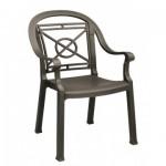 Dining Armchair, Victoria Classic Bronze - 4/Case