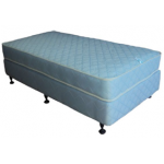 Sleepmaker Motel Comfort Double (1370 x 1900 x 200mm) Mattress ★★ + Commercial Base Double (1370 x 1900 x 280mm)