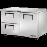 169 Ltr Undercounter Refrigerator, 1 Door, 2 Drawer - 1/Case