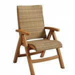 Chair, Java All-Weather Wicker Honey - 2/Case