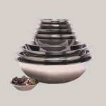 MIXING BOWL, STAINLESS STEEL, 5 QT 11-1/2 DIA.