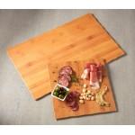 Serving Board, Melamine, Square, Bamboo 11-1/4 Sq.x3/8 H - 12/Case