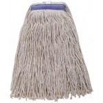 24 Oz. 600g, Mop Head, Cut Head, White Yarn - 20/Case