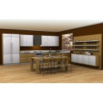 Kitchen unit, HPL.
