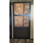 Castaway Door, mahogany, tapa