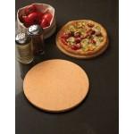 Pizza Stone, Deluxe, Round, 15-3/4 Dia. 15 3/4 Dia.x7/8 H - 6/Case
