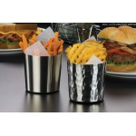 14 Oz. Fry Cup, S/S, Silver - 72/Case