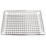 "12"" x 18"" x 2"" Doughnut Basket, Nickel Plated - 24/Case"