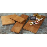 "10""x9"" Serving Board, Dark Bamboo - 8/Case"
