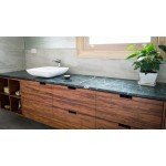 Island home single sink vanity. Mahogany.1400x550x500