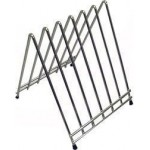 6 Slots Cutting Board Rack, Chrome Plated - 6/Case