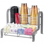 Cal-Mil 1594-74 Soho Condiment Organizer (Silver)