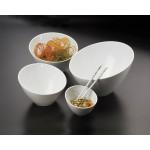 Angled Melamine Bowls - 6/Case