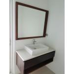 Guest vanity with mirror Mahogany 950х450х450 mm