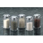 Shaker, San Plastic, Standard Weight, 12 Oz. 3 Diax5-3/8 H - 12/Case