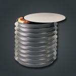 Round Separator, 9 9 Flat Alum. Disk - 24/Case