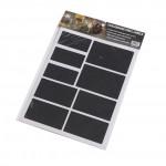 CHALKBOARD STICKERS, ORNATE, BLACK, PACK OF 2