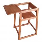 Wooden High Chair, Assembled - 1/Case
