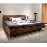 Bure slab style bed. King size. Raintree.