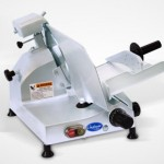 "10"" Manual Gravity Feed Slicer - 1/4 hp"
