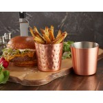 FRY CUP, COPPER, SATIN, STRAIGHT-SIDED, 14 OZ. 3-3/8 DIA. X 3-3/8 H