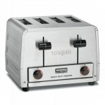 Toaster, 4 Slice, Heavy Duty - 1/Case