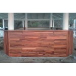 Custom design bar for Tropica. Raintree, mahogany, ply
