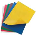 "12"" x 18"" Flexible Cutting Mats, 6 Colors/Set - 12/Case"