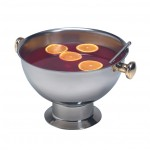 13.25 Ltr Punch Bowl, S/S, Silver - 1/Case