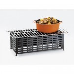 Cal-Mil 1361-12 Iron Chafer Alternatives (22Wx12Dx7.5H)
