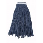 32 Oz. 800g, Mop Head, Cut Head, Blue Yarn - 20/Case