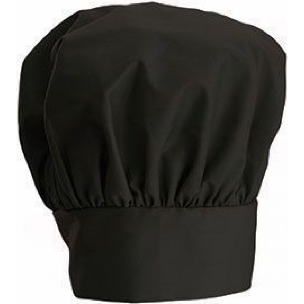 One Size Fit Most. Black Chef Hat Adjustable 24
