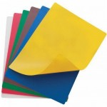 "18"" x 24"" Flexible Cutting Mats, 6 Colors/Set - 6/Case"