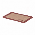 "Quarter-Size 8.25"" x 11-0.75"" Baking Mat, Silicone - 20/Case"