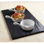 Fry Pan, Ceramic, Mini, 4 Oz. 5-1/8 Lx3-1/2 Wx1-1/2 H - 60/Case