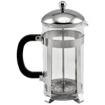 Winco FPCM-33 Stainless Steel 33 Oz French Press Coffee Maker