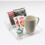 Cal-Mil 490-12 Clear Amenity Tray