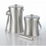 34 Oz. Ice Bucket, S/S, Silver - 12/Case