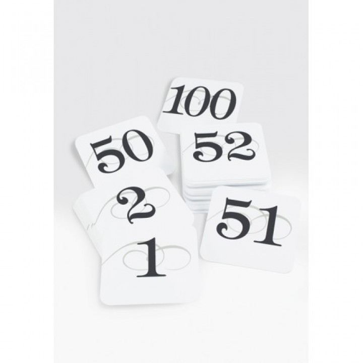 Cal-Mil 671-2 Number Cards