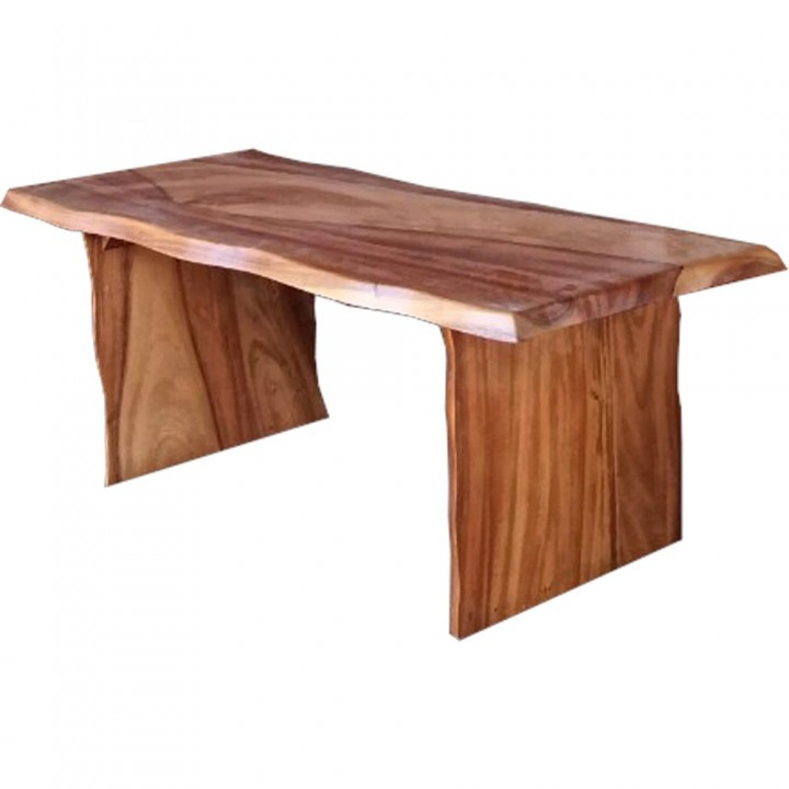 Part of Tribal outdoor dining table. Raintree. , Bench 1250x400x450