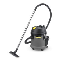 Vacuum cleaner, Wet and Dry, NT 27/1 - 1/Case